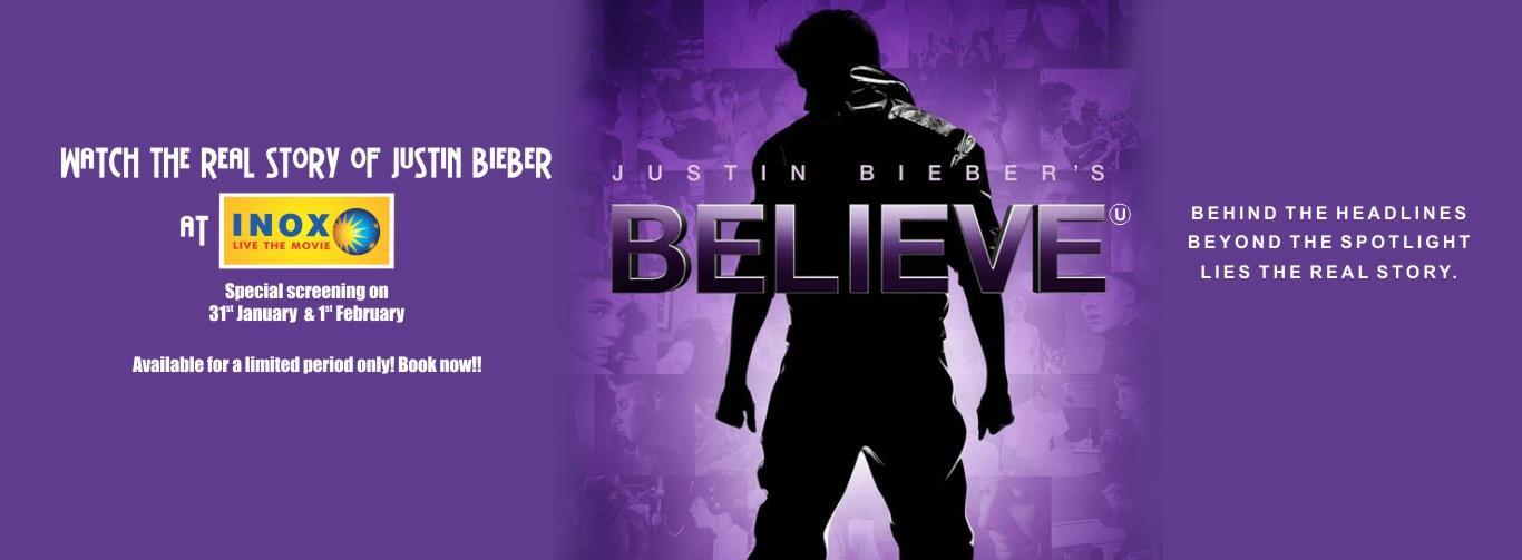 Justin Bieber`s Believe (English) (U)